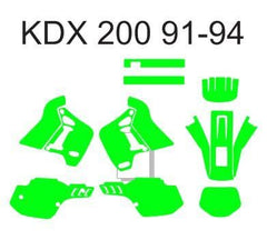 kdx 200 template 1991 - 1994