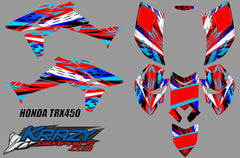 Honda trx450 graphics kit