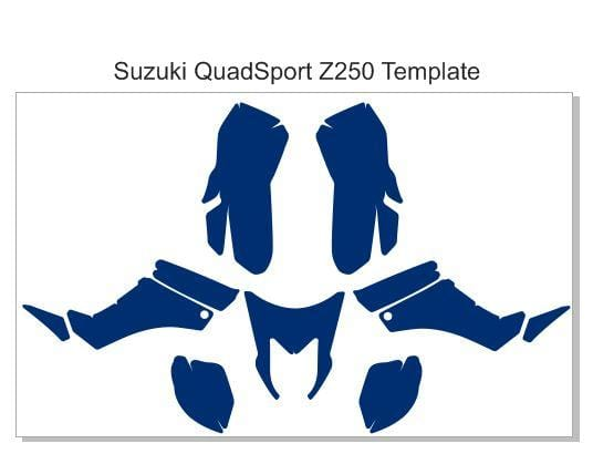 Suzuki QuadSport Z250 Template