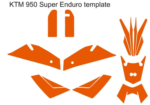 KTM 950 Super Enduro template