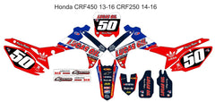Honda CRF 450 Graphics 2009-2012 CRF250 2010-2013