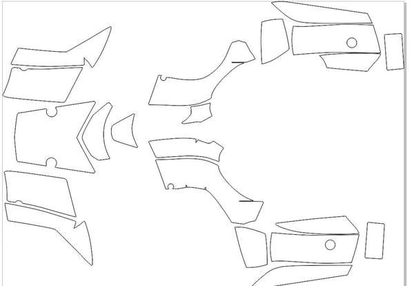 Kawasaki Brute Force 750 2004-2011 Template