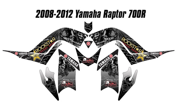 Yamaha Raptor 700R Graphics d25