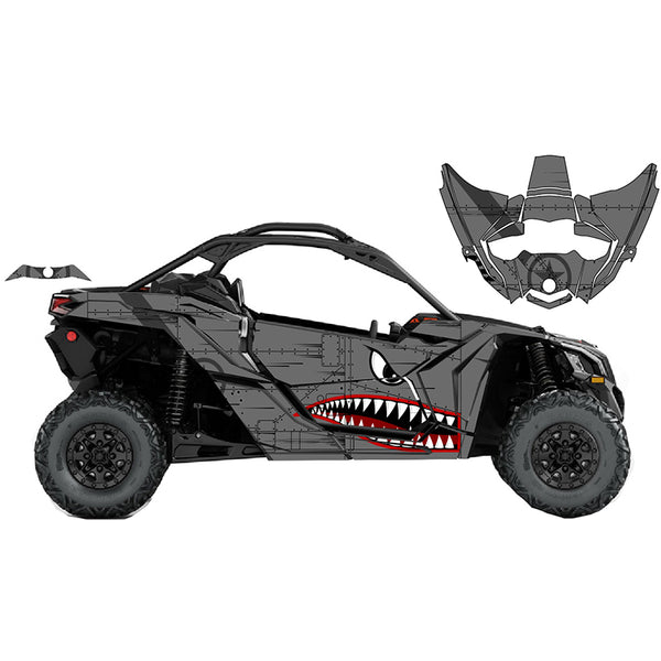 Can-Am X3 Bomber- Matte Finish-
