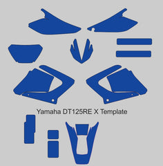Yamaha DT125RE X Template