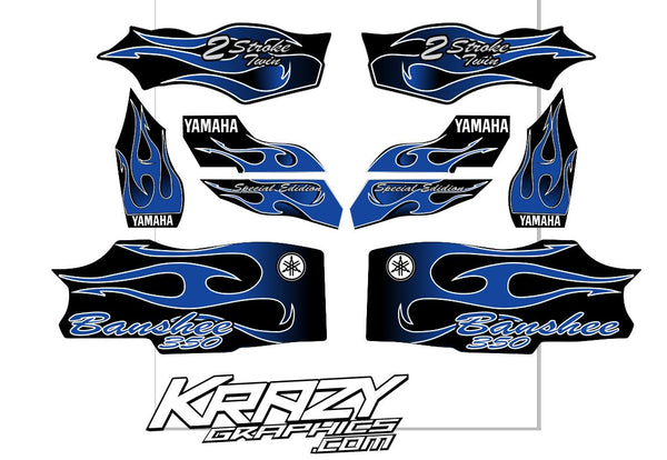 Yamaha Banshee OEM Replica Graphics