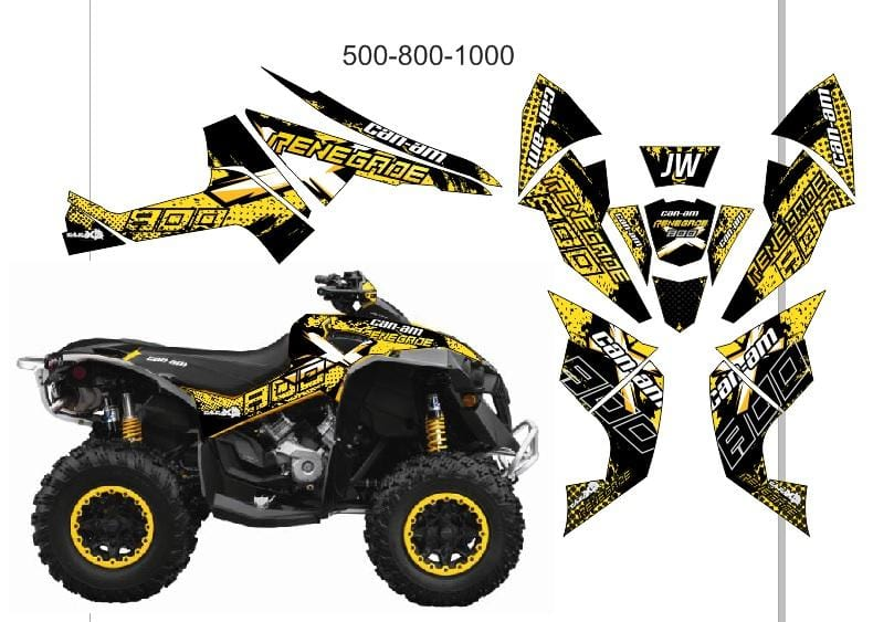 Can-Am Renegade d6