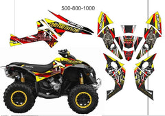 CanAm Renegade Graphics Kit