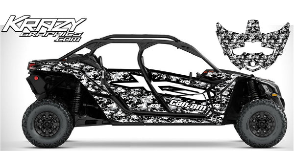 Can-Am X3 Maverick 4 door dig camo v2