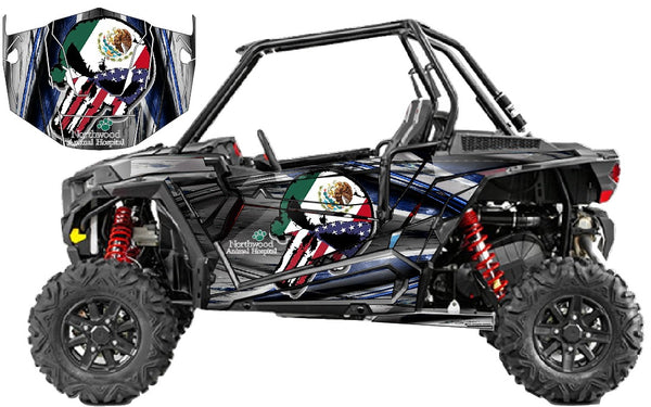 Polaris RZR 1000 _Mexico_Flag
