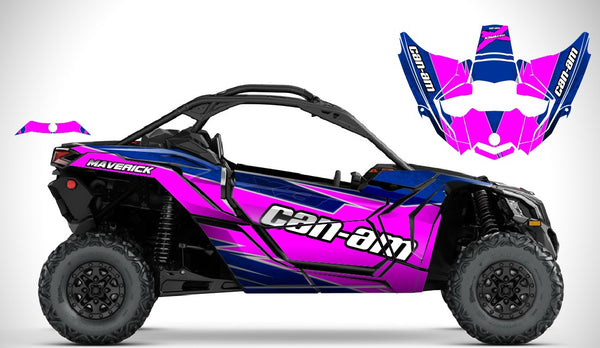 Can-Am X3 Maverick 2 door pink