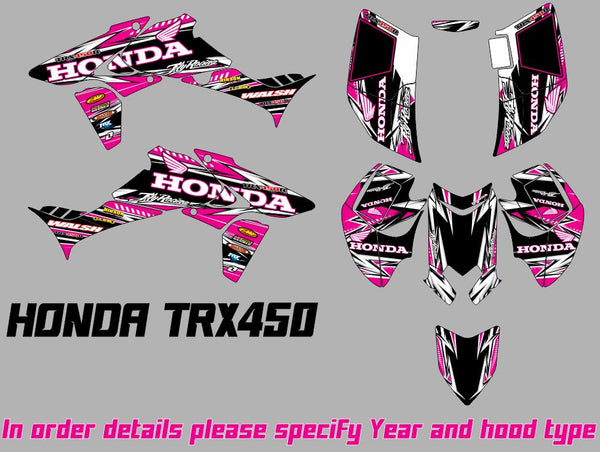TRX 450R Graphics