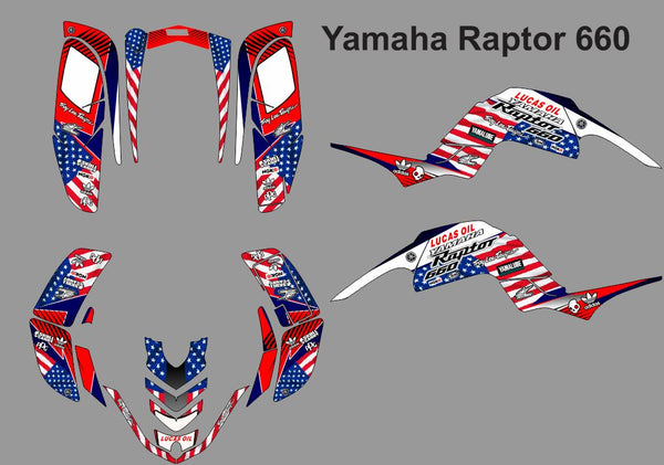Yamaha Raptor 660 -Flag