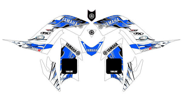 Yamaha Raptor 700R Graphics d27