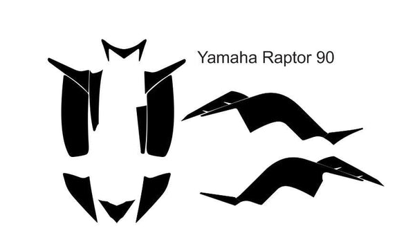 Yamaha Raptor 90 Template