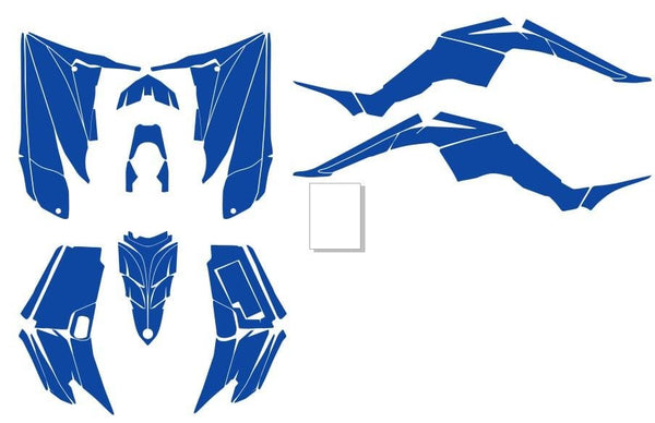 Yamaha Raptor 350 Template