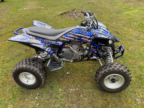 Yamaha YFZ Graphics (2003-2008)-Blue-Digital-Camo