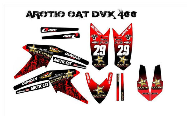 Artic Cat DVX graphics kit
