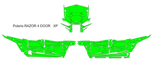 Polaris RZR 1000 4 door XP Template