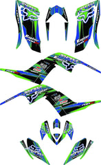 Yamaha Raptor 700R Graphics d15 For  (2006-2012)