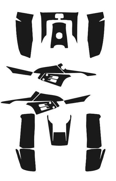 Yamaha Warrior 350 Template