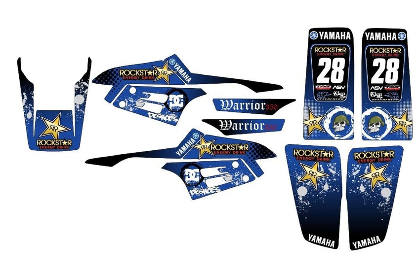 Yamaha Warrior Graphics d3