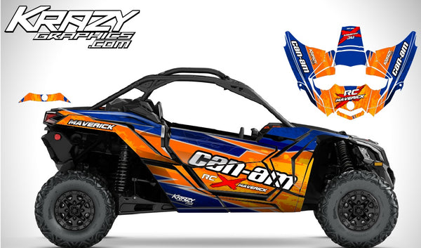 Can-Am X3 Maverick 2 door orange