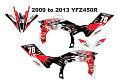 Yamaha YFZ Graphics (2009-2013)-d19