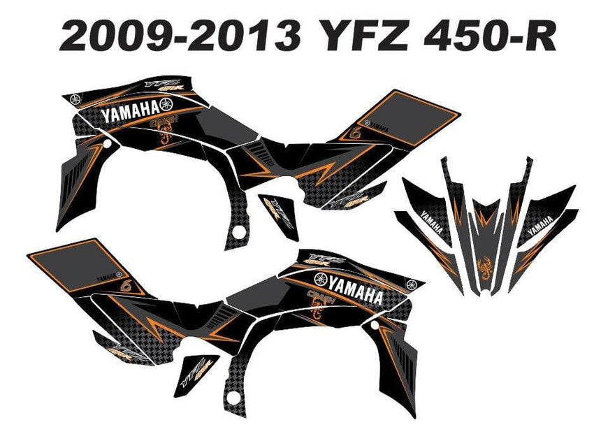 Yamaha YFZ Graphics (2009-2013)-d3
