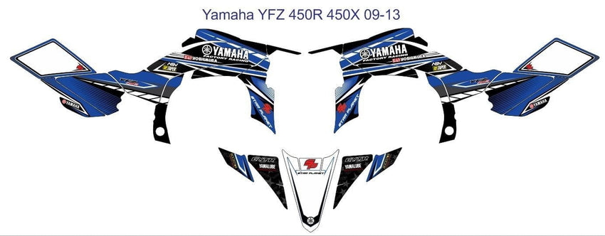 Yamaha YFZ Graphics (2009-2013)-d4