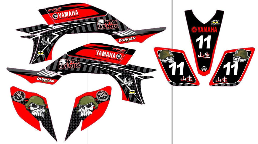 Yamaha YFZ Graphics (2003-2008)-d44
