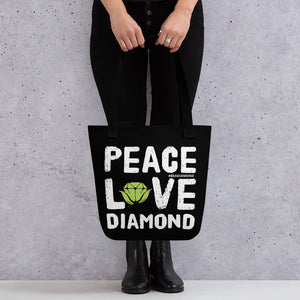 Peace Diamond Love Tote bag