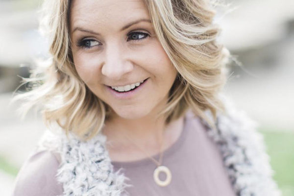 Beverley Mitchell wears Tiny Tags