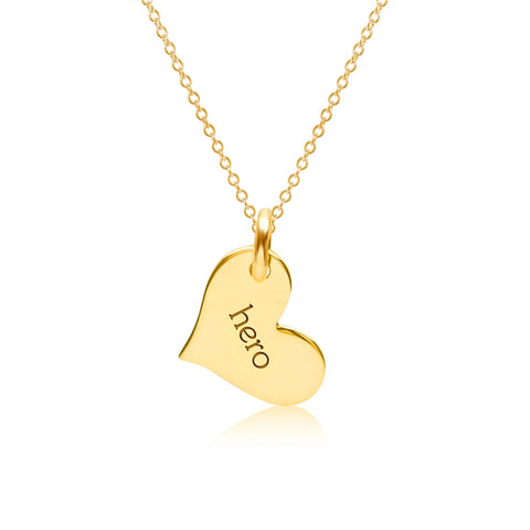 Image of Hero Heart Necklace
