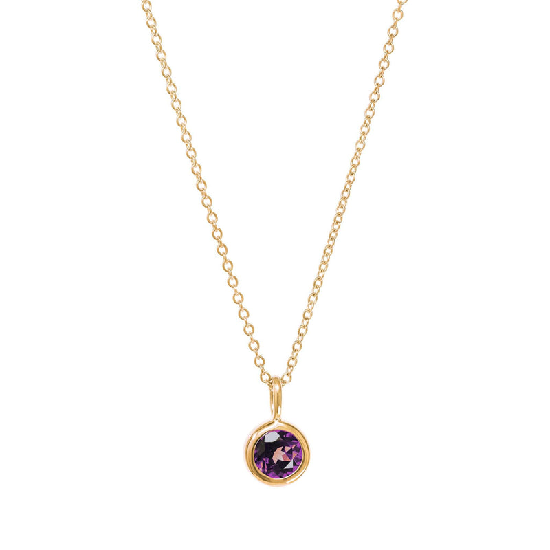 June Birthstone Necklace - Alexandrite