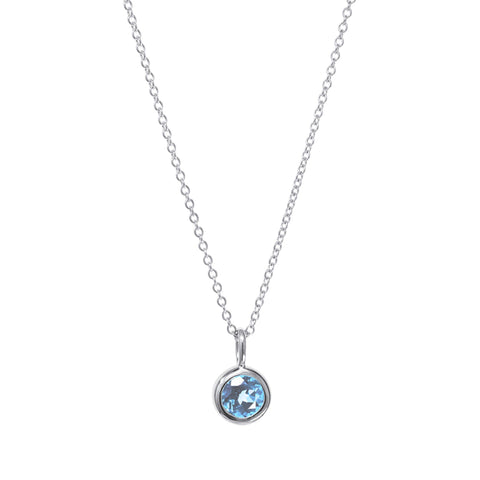 Image of Birthstone Charm Necklaces