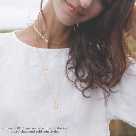 Image of Gold Rainbow Necklace