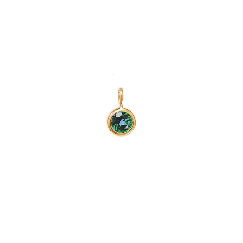 May Birthstone Charm - Emerald