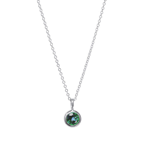 Image of May Birthstone Necklace - Emerald
