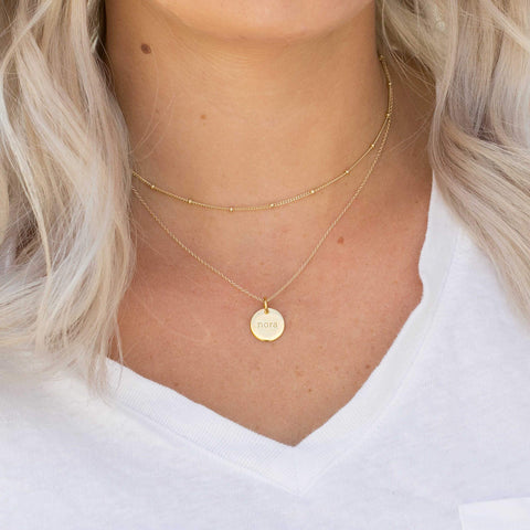 Image of Gold Satellite Choker