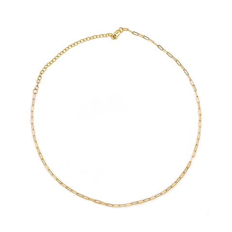 Image of Gold Luna Choker