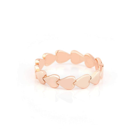 Image of Rose Gold Perfectly Imperfect Heart Band