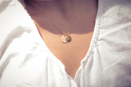 Gold Perfectly Imperfect Heart Charm