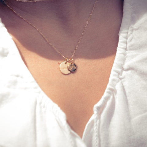 Image of Sterling Silver Perfectly Imperfect Heart Necklace