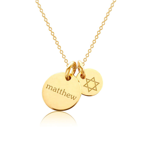 Image of Gold Star of David