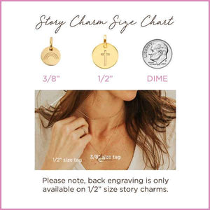 14k Gold Childhood Cancer Ribbon Necklace