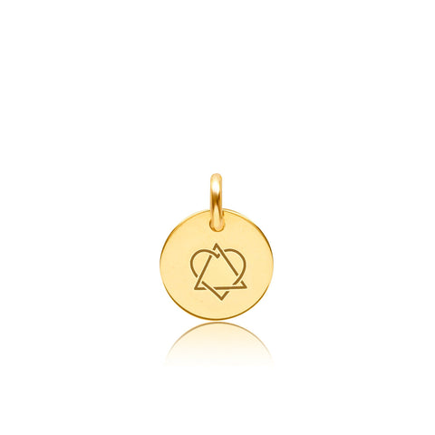 14K Gold Adoption Symbol