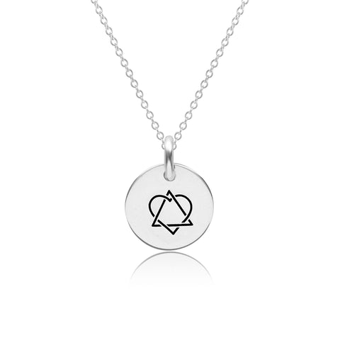 Image of Sterling Silver Adoption Charm Necklace