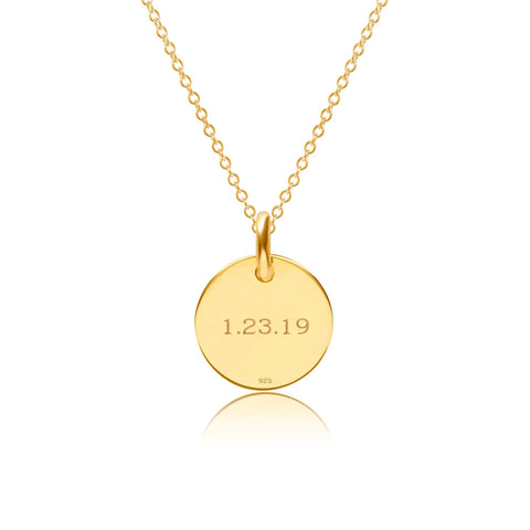 Image of 14k Gold Adoption Necklace