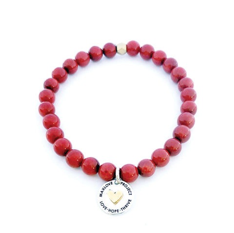 Image of MaxLove Project Bracelet - Coral